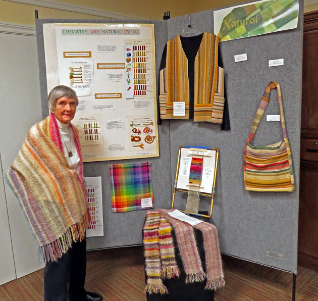 <p>Valle Verde resident and fiber artist Margaret Carlberg uses natural materials to make unique woven textiles and other pieces.</p>
