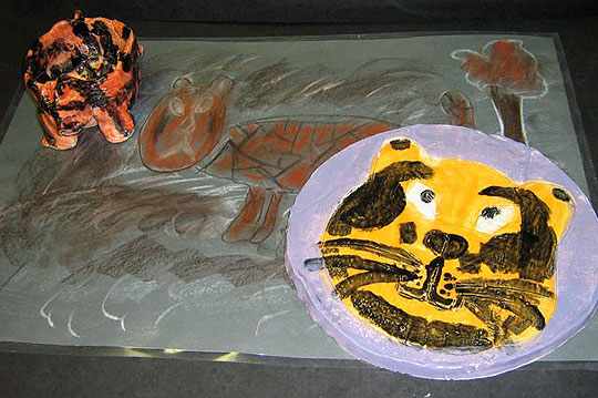 Cold Spring School fourth-graders relied on art, research and technology in their Endangered Animal Project.