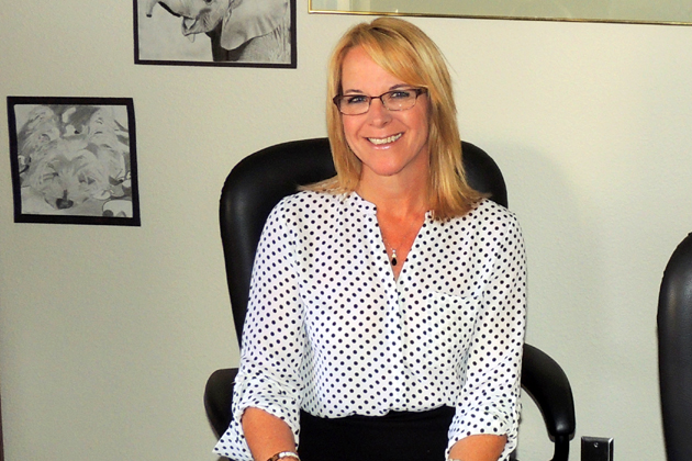 Karen Rotondi has been promoted to principal of Ernest Righetti High School in Santa Maria. She served as an assistant principal at the school for five years before becoming interim principal last June.