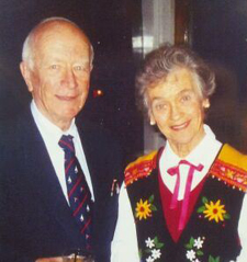 Dr. Russell and Dr. Charlotte Tyler