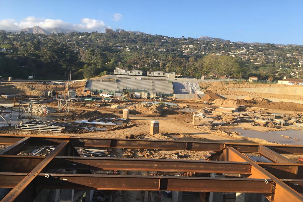 Construction Delays Mean Santa Barbara High S New Peabody