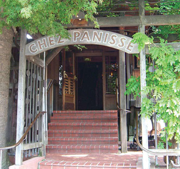 Chez Panisse serves as one of Berkeley's finest restaurants.