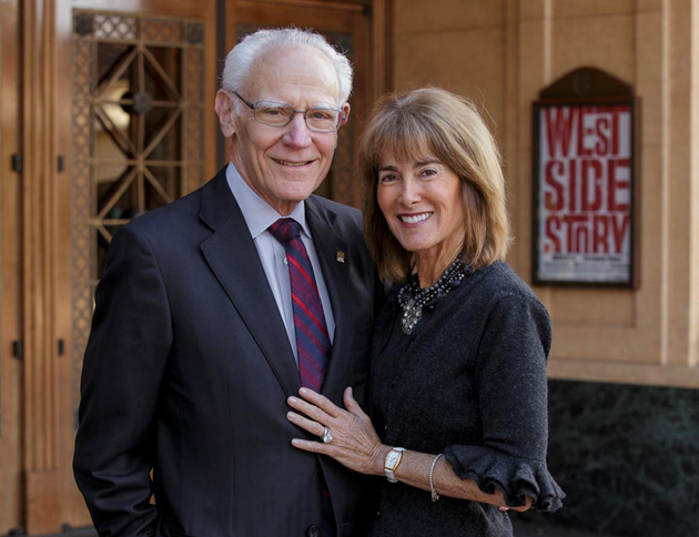 <p>Michael and Anne Towbes have made a $5 million irrevocable planned gift to the Santa Barbara Center for the Performing Arts&#8217;s Alhambra Society.</p>