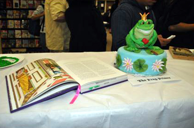 <p>&#8220;The Frog Prince&#8221; was crowned the Most Beautiful winner in SBCC&#8217;s 2012 Edible Book Festival.</p>
