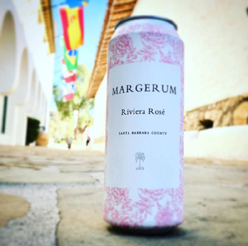 Margerum Wine Co. now is selling its rosé in a can.