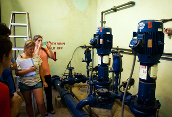 Love Pictures on The Bren Group Takes A Campus    Water Tour    To Assess Current Usage