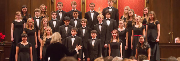 <p>Providence&#8217;s spring concert this Thursday will feature the high school Chorale, the select Chamber Singers, the middle school Chorus and the youth ensemble, Laudate.</p>