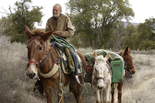 Activist Joan Sears will discuss his lifestyle and why he's on the road with his mules during Anacapa School's Breakfast Club on Friday.