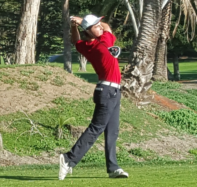 Bennett Reichard of San Marcos shot a 1-under 70 to earn medalist honors in a match against Santa Barbara