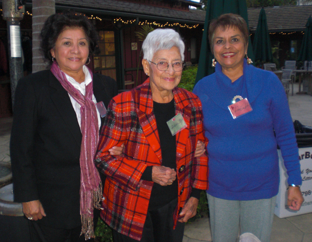 <p>A Friendship Center participant is joined by relatives at the center&#8217;s 2012 Holiday Caregiver Party.</p>