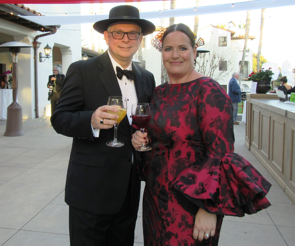 Bert and Belle Regeer served as co-chairs of Laguna Blanca School's Feria de Sevilla-themed spring benefit event.