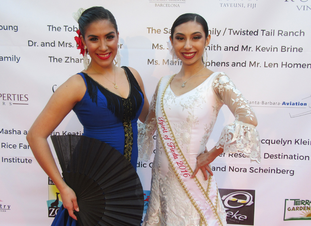Erika Martin Del Campo and Alexis Simentales performed at the event.