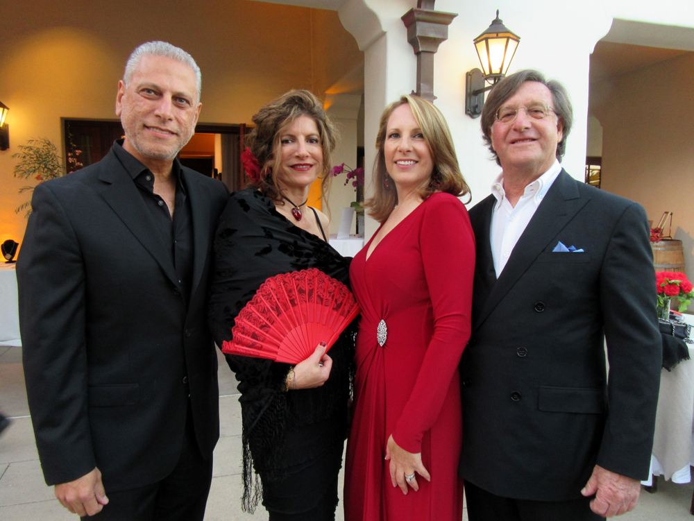 From left, Hani and Amal Zeini and Ron and Marci Berg.