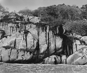 "Samples of liquid and rock formations of asphaltum will be part of the  ""Geology of Oil in the Santa Barbara Channel & The Chumash Use of Asphaltum"" exhibit at the Santa Barbara Maritime Museum."