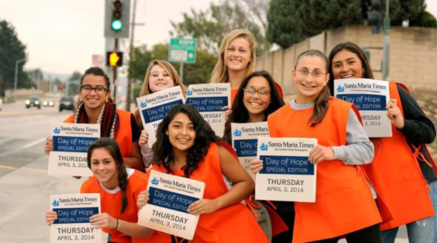 <p>Hundreds of community volunteers will occupy street corners in Santa Maria and Orcutt on April 3 for the inaugural Day of Hope fundraising event to support services for cancer patients and their families at Mission Hope Cancer Center.</p>