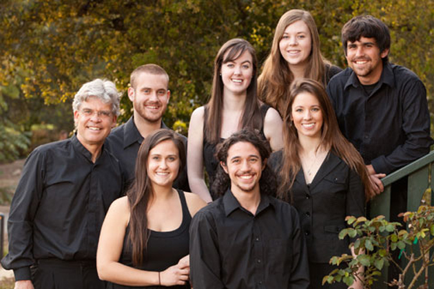<p>Grey Brothers and the Westmont Chamber Singers will be giving voice to a variety of composers in the Faulkner Gallery this Saturday.</p>