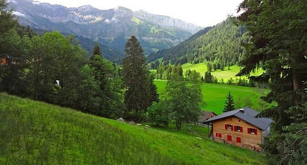 <p>The lush, green hills of Lucerne, Switzerland, will take your breath away.</p>