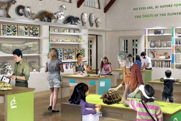 The Santa Barbara Museum of Natural History's planned improvements include transforming its existing creekside office into a Nature Observatory.