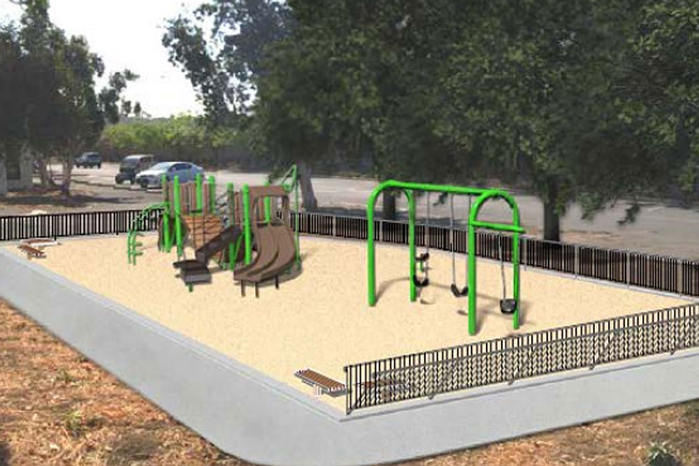 The Santa Barbara City Council on Tuesday approved a $388,000 playground at the Municipal Tennis Courts on Old Coast Highway.