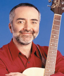 Children's singer Raffi will be playing at the Arlington Theatre on Sunday, April 7.