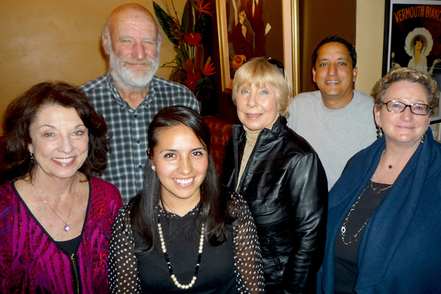 The 2015 Santa Barbara Beautiful officers are, from left, Jo Ann Mermis, second vice president; Duke McPherson, secretary; Jeanette Casillas, president; Jacqueline Dyson, third vice president; Ricardo Castellanos, first vice president; and Deborah Schwartz, treasurer/chief financial officer.