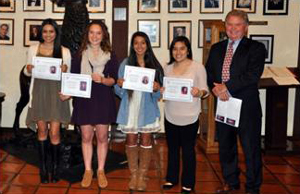Elks Students of Month