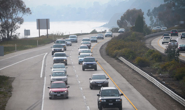 The Highway 101 project involves an 11-mile stretch and would add what are officially known as high-occupancy-vehicle (HOV) lanes between Sycamore Creek, north of Salinas Street, in Santa Barbara and Bailard Avenue in Carpinteria.