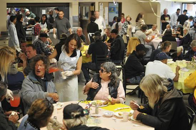 <p>Volunteers are still needed to help serve during the Santa Barbara Rescue Mission&#8217;s Easter Feast.</p>