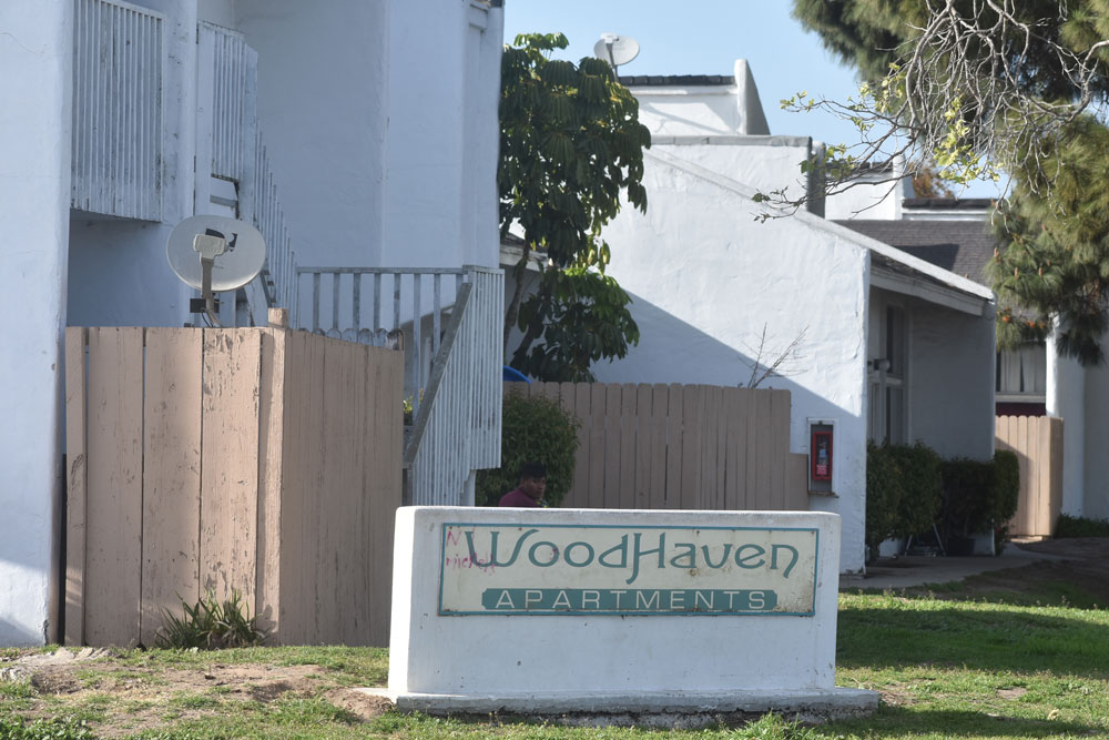 The Woodhaven Apartments are among dozens in Santa Maria that city officials allege are rife with code violations. A lawsuit filed by the city aims to force landlord Dario Pini to make improvements to 10 rundown residential properties in Santa Maria.