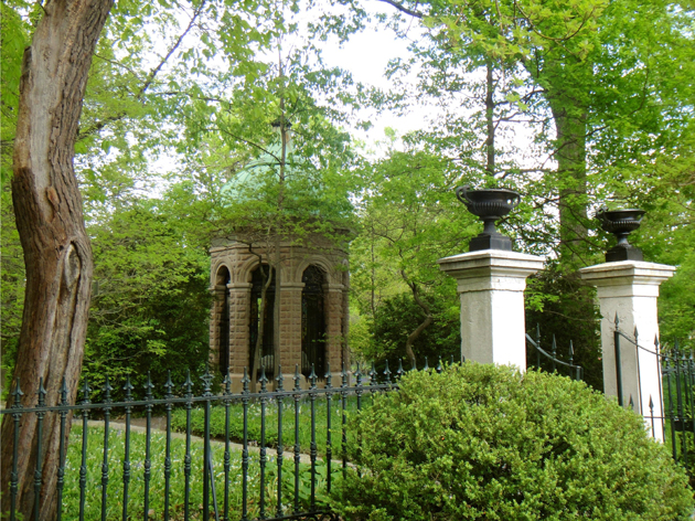 The Henry Shaw mausoleum.