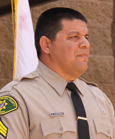 Custody Sgt. Anthony Espinoza