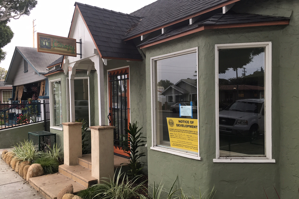 The Santa Barbara Planning Commission on Thursday denied an appeal of the 118 N. Milpas St. medical marijuana dispensary.