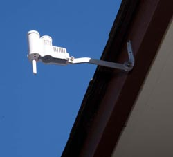 The Solvang Senior Center installed a rain sensor on the roof to reduce irrigation use during the rainy season.