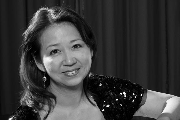 "Composer Karen Tanaka paints a musical portrait of a ""Guardian Angel"" in the weekend concerts by the Santa Barbara Symphony."