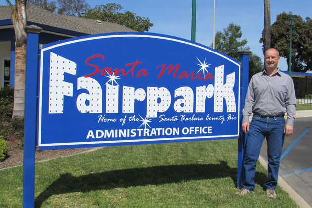 The Santa Maria Fairpark's new chief executive officer, Richard Persons, and his staff are gearing up for this weekend's Santa Maria Valley Strawberry Festival.