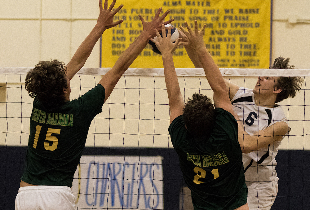 SBHS volleyball beats Dos Pueblos in four sets