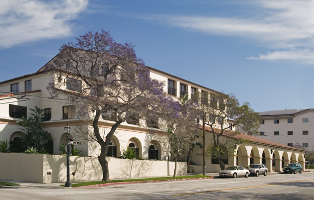 <p>The Towbes Group manages 25 commercial buildings in Santa Barbara and Ventura counties, including this four-story office building at 222 E. Carrillo St. in downtown Santa Barbara.</p>