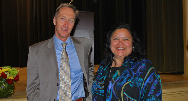 <p>Jon Clark and Annette Cordero were honored Saturday night by the Santa Barbara Education Foundation during its annual Hope Awards gala in Santa Barbara.</p>