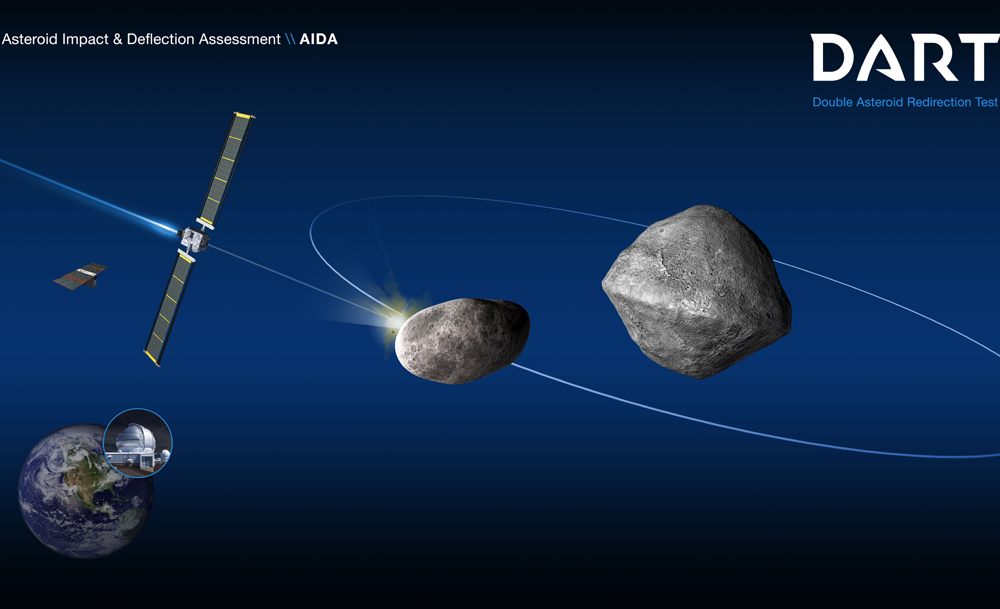SpaceX Wins NASA's Anti-Asteroid DART Contract