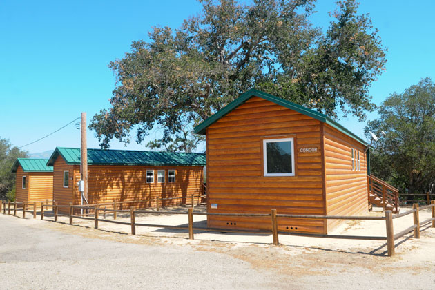 The Santa Barbara County Board of Supervisors has approved funding to build four more vacation rental cabins at Lake Cachuma due to demand for the existing ones, shown here.