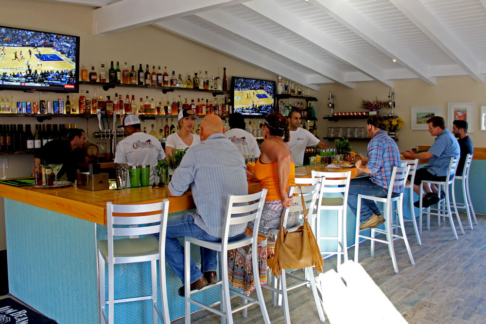 A revamped Creekside Restaurant & Bar is reopening on Hollister Avenue between Santa Barbara and Goleta.