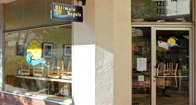 <p>After three years in business, the Ultimate Bagels at 1226 State St. in Santa Barbara has closed. One nearby business owner said downtown proved to be a tough location for the shop.</p>