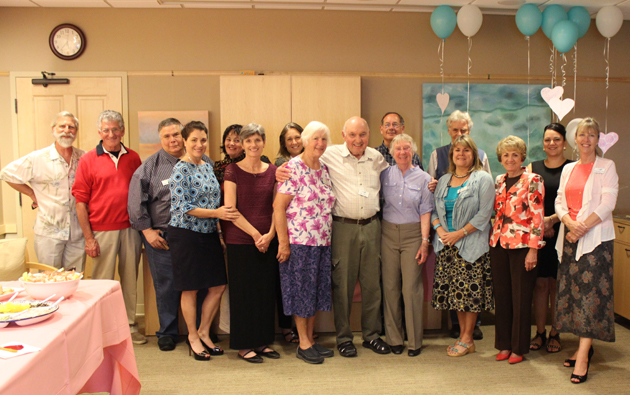 <p>Hospice of Santa Barbara recently hosted a volunteer recognition party, and pictured are just some of the more than 100 volunteers who have provided countless hours of service to the clients, patients and families that Hospice of Santa Barbara serves.</p>