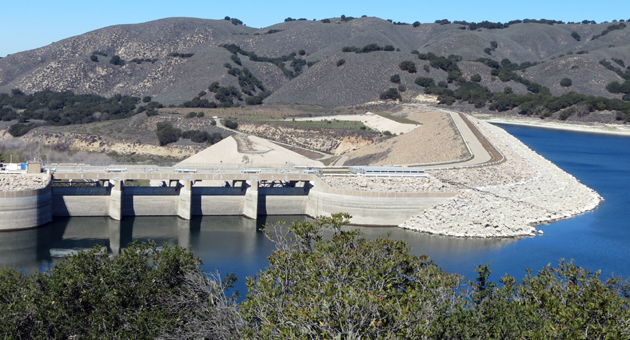 <p>Water levels at Lake Cachuma have reached critical levels.</p>