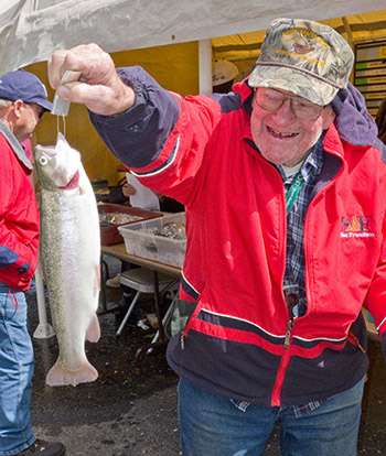 The Prize to Oldest Angler was awarded to William Massa, 88, of Santa Maria.