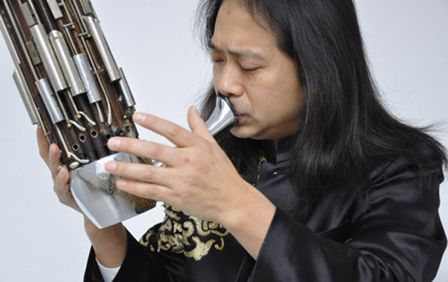 Sheng-meister Wu Wei will blow into town to solo with the Seoul Philharmonic Orchestra on Wednesday at the Granada Theatre.