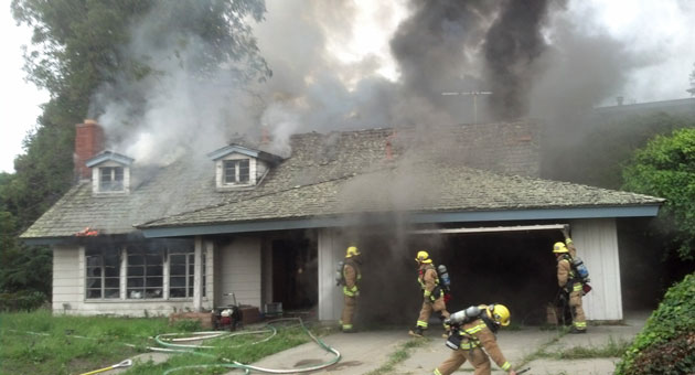 <p>Fire caused significant damage Thursday to a vacant home in Lompoc.</p>