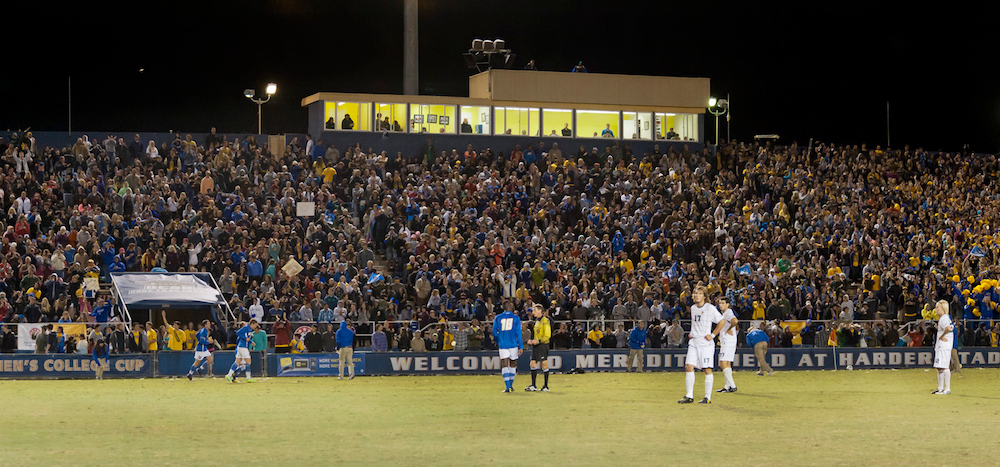 The NCAA men's soccer College Cup returns to Harder Stadium in 2018 and 2020.