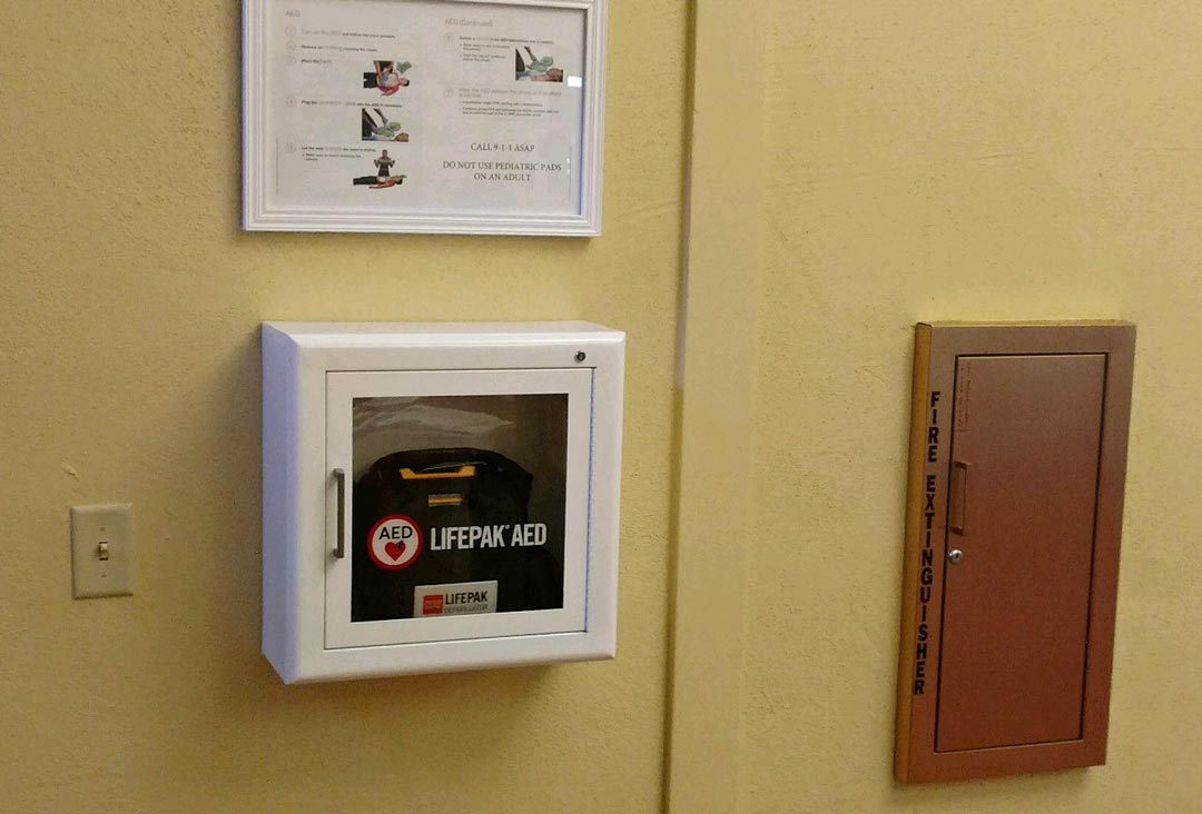 Though trained personnel will staff the recreation facilities where the AEDs were installed, anyone should be able to use one in an emergency, said assistant Parks and Recreation director Rich Hanna.