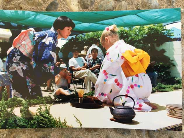 Traditional tea ceremony to be performed at Japanese Festival.